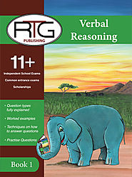 Buy 11 Plus Verbal Reasoning Book Online | Verbal Reasoning Book 1 (Cover first 10 topics) | Eleven Plus RTG Shop
