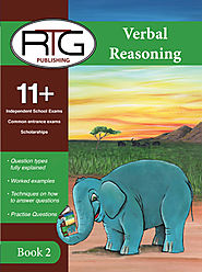 Buy 11 Plus Verbal Reasoning Book Online | Verbal Reasoning Book 2 ( Covers Next 10 Topics) | Eleven Plus RTG Shop