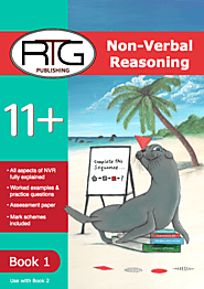 Buy 11 Plus Non-Verbal Reasoning Book Online | Non Verbal Reasoning Book 1| Eleven Plus RTG Shop