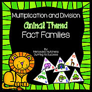Fact Families: Multiplication and Division by Mercedes Hutchens | TpT