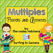 Multiples Posters and Activities by Mercedes Hutchens | TpT