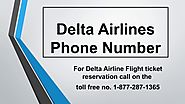 Delta Airlines Phone Number 1-877-287-1365