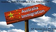Australia Skilled Nominated Visa Subclass 190 Requirement | AP Immigration