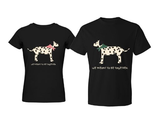 365inlove Cute Matching Dalmatian Couple T-shirt (Set of 2) - Gift for Couple, Christmas Gift, Valentine's Day Gift, ...