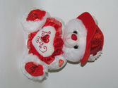 "Musical ""I Love You"" Teddy Bear with Red Hat (11"") Plays ""The Love Song"" - Best Valentine's Day Gifts: Valentines Day..."
