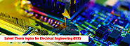 Latest Thesis topics for Electrical Engineering (EEE)