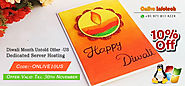 Get 10% Discount for USA Dedicated Server Hosting on this Diwali