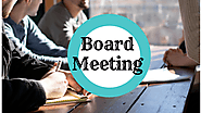 Board Meeting Rules and Suggestions | LegalRaasta