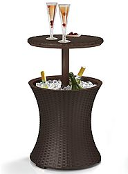 Keter Patio Cooler Table