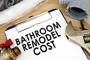 Determine Bathroom remodel cost