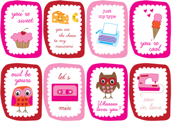 Free Valentines Printable Cards & Tags | A Listly List