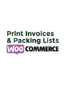 Print Invoices & Packing lists