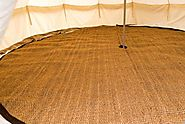 Wholesale Bell Tent Coir Matting Rug Carpet - Bell Tent Village