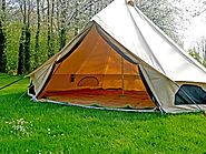 Premium Luxury Cotton Canvas Glamping Bell Tent | Bell Tent Village - Bell Tent Village