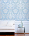 Damask Wall Decor