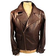 Website at https://www.black-leatherjacket.com/Captain-America-Brown-Leather-Jacket
