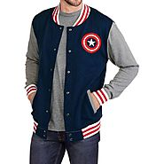 Website at https://www.black-leatherjacket.com/captain-america-varsity-jacket