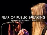 'Public Speaking' - A Haiku Deck by Samantha Salazar