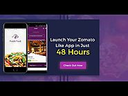 Launch Your Food delivery app in Just 2 Days