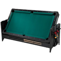 Fat Cat Pockey 7ft Black 3-in-1 Air Hockey, Billiards, and Table Tennis Table: Sports & Outdoors