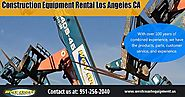 Construction Equipment Rental Los Angeles CA | westcoastequipment.us