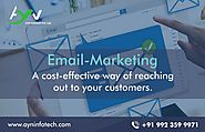 Email Marketing - Appealing Info graphics, Text and Links directly to your potential customers