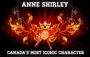 Anne Shirley is Canada's most iconic character