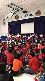CATCH activity at our Paw Power Assembly... - Mesa Vista Elementary