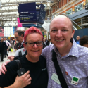 Talk & Walk to Waterloo with Sue Black post #BFImedia - by Teknoteacher