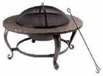 Shinerich Industrial Ltd Fs 35' Rnd Fire Pit Srfp46 Outdoor Fireplace: Patio, Lawn & Garden