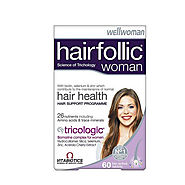 Vitabiotics Hairfollic Woman, Wellwomen Hair Loss Vitamins