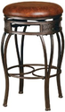 Amazon.com - Hillsdale Montello 26 in. Backless Swivel Counter Stool - Old Steel