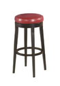 Amazon.com - Armen Living Mbs-450 26-Inch Backless Swivel Barstool, Red