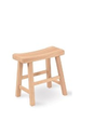Amazon.com - International Concepts 1S-681 18-Inch Saddle Seat Stool, Unfinished - Barstools Without Backs