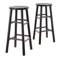 Amazon.com - Winsome Wood S/2 Wood 30-Inch Bar Stools, Espresso Finish