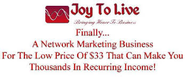 Joy To Live Home Based Business