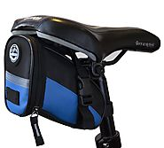 Weather Resistant Bicycle Seat Bag Saddle Bag Exciting Colors for Your Road Bike or Fixed Gear