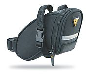 Aero Wedge Pack, w/ strap mount, Micro