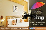 Enjoy this awesome weather to the fullest only at The Hotel Jannat