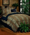 Leopard Print Sheets and Comforters