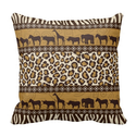 African Animals and Leopard Wraparound Print