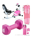 Pink Exercise Equipment, Fitness Gear, Yoga Clothes and MUCH More (hot pink too!)