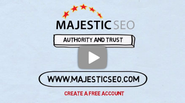 Majestic SEO : Backlink Checker & Site Explorer