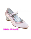 Pale pink special occasion girls shoes