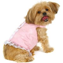 Doggles Dog Harness Dress, Pink