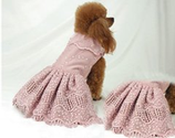Emma Rose Candlelight Pink Dog Dress