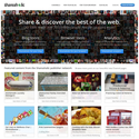 Shareaholic - Share buttons, related content, website analytics