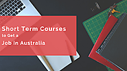 Short Term Courses to Get a Job in Australia
