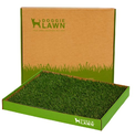 2 DOGGIELAWN Disposable Dog Potty Box (REAL Grass) 1 MONTH