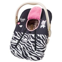 Zebra Print Baby Car Seat Covers